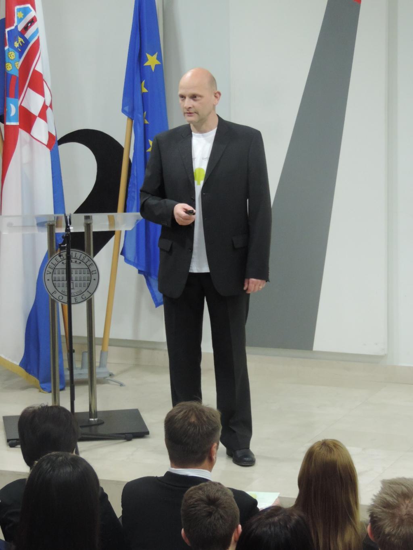 Ivo Žanetić, voditelj projekta: Uvodno predstavljanje projekta GEL i programa Konferencije.