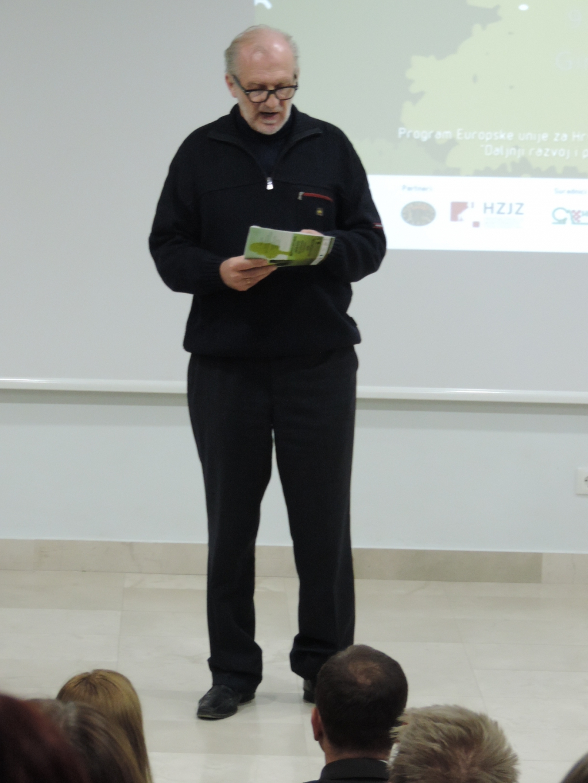 Pavao Bucić, ravnatelj: Pozdravni govor (1).