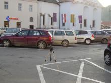 Mjerenje buke na Trgu sv. Trojstva u Požegi